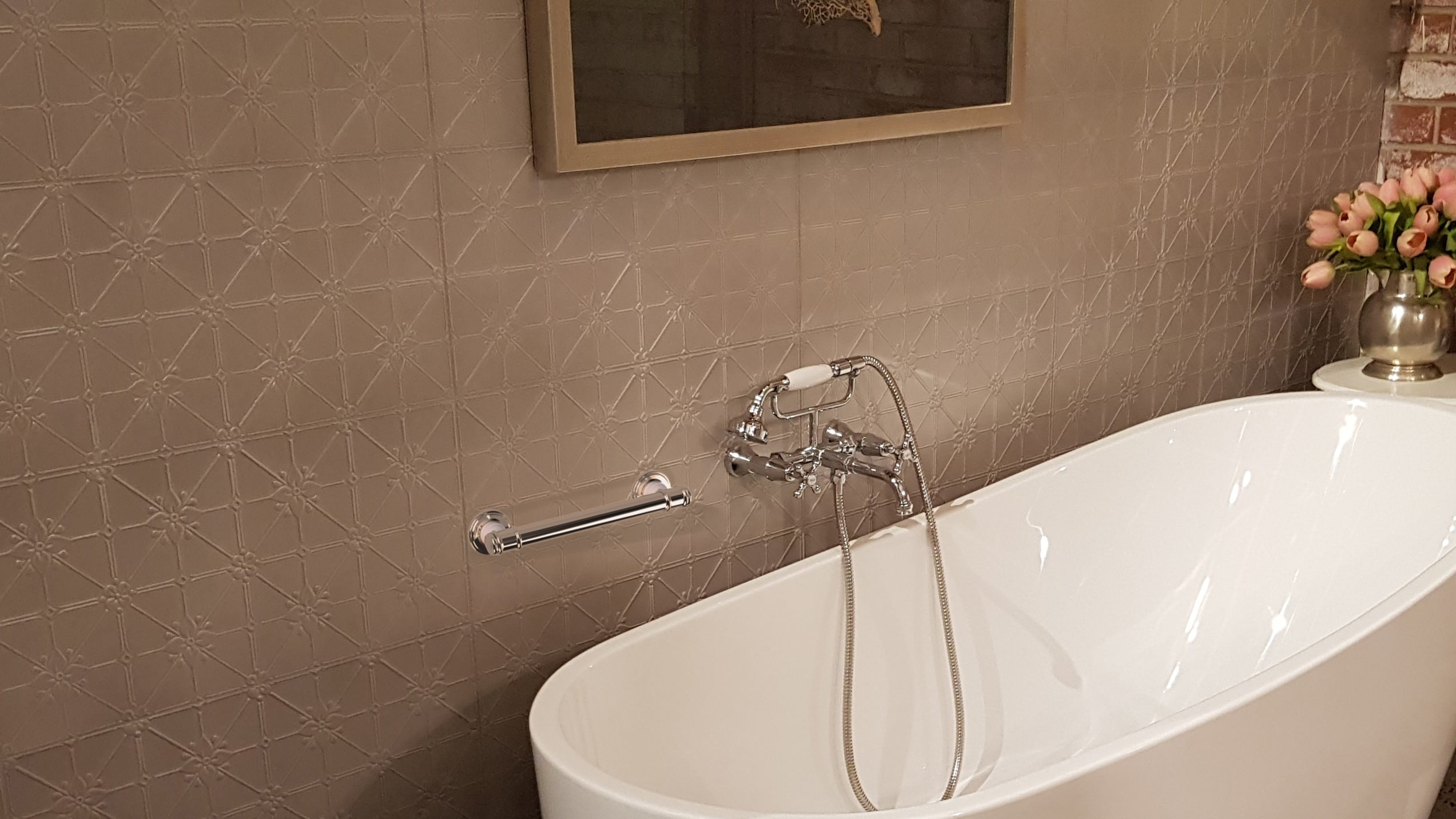 Glance Rails for your Provincial Style Bathrooms