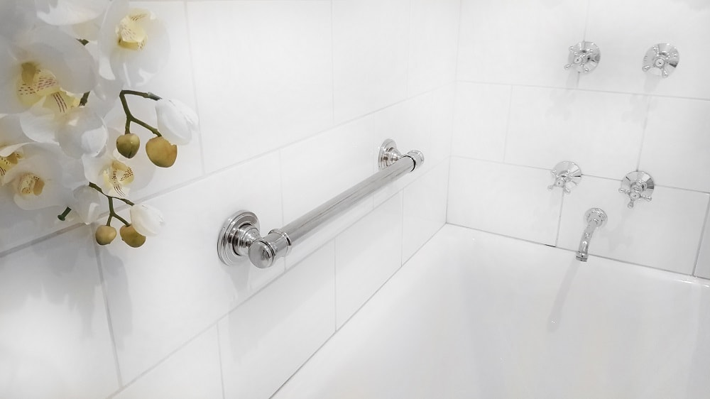 Glance Bath Grab Rail Medium 450mm