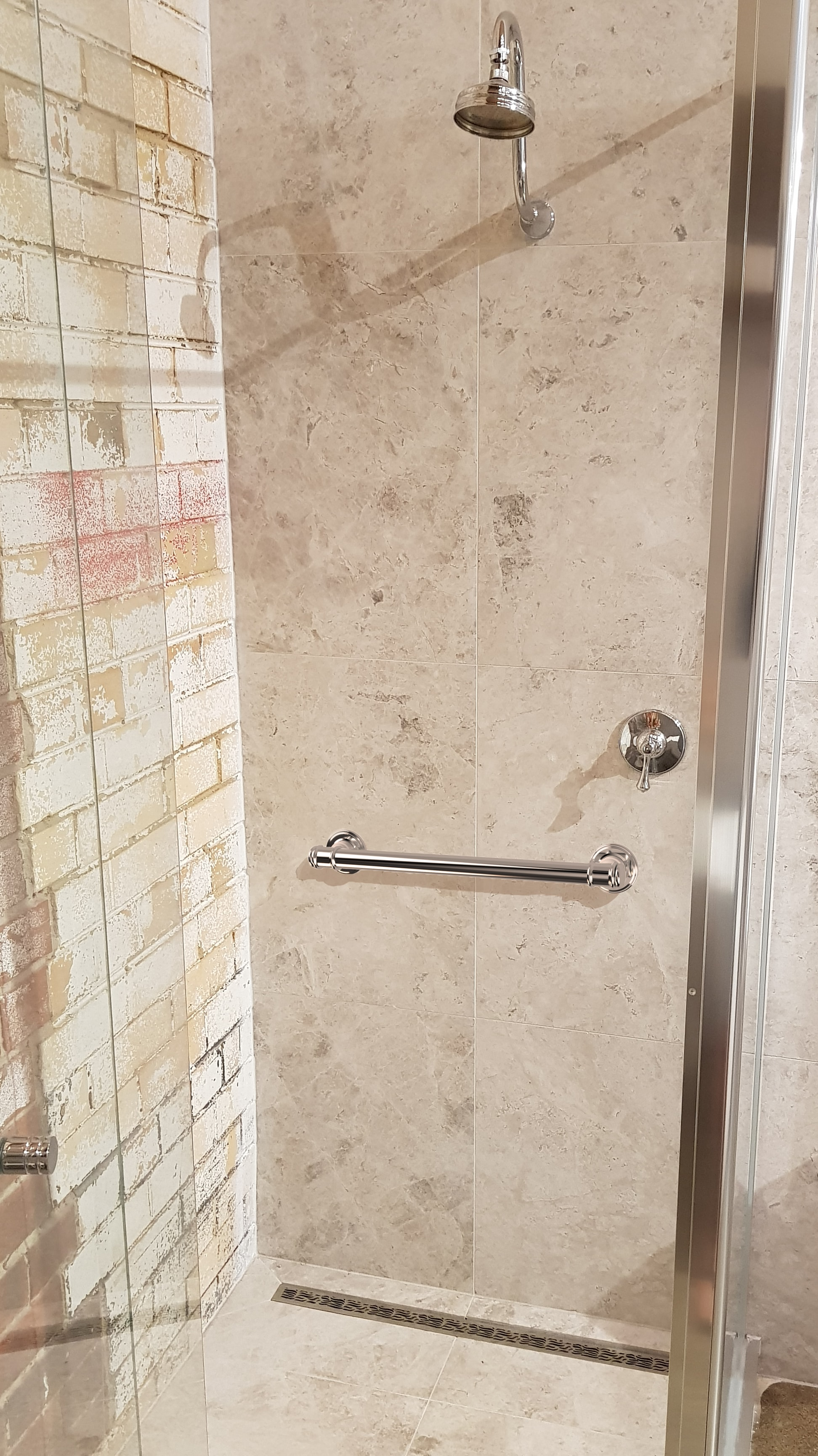 Availcare Glance Bathroom Grab Rail 30mm Chrome AS1428.1 Approved!