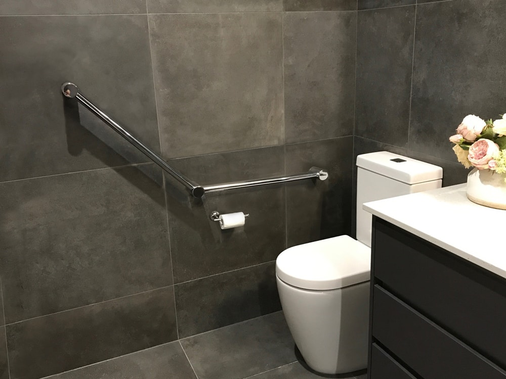 Avail Angled Toilet Rail