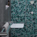 Calibre Ergo Double Towel Support Rail Chrome