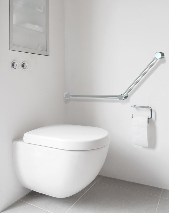 Avail Angled Grab Rail Toilet Rail