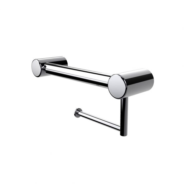 Avail Calibre Grab Rail with Toilet Roll Holder
