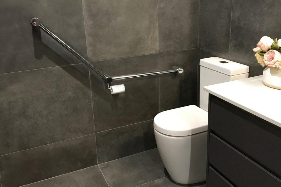 Catherine's New Bathroom Grab & Towel Rails