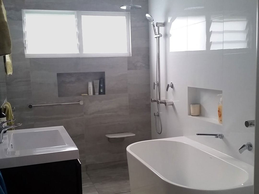 Jodie's Beautiful Bathroom for her Son