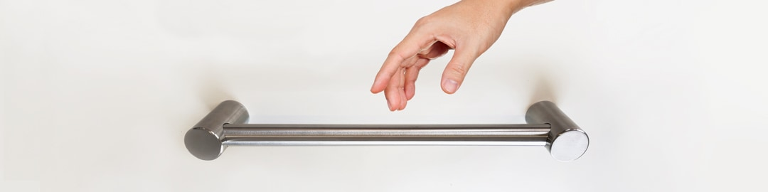 Avail Calibre Brushed Stainless Towel Rails and Grab Rails