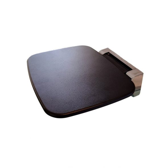 Black Fold Up Shower Seat Wall Mounted Avail