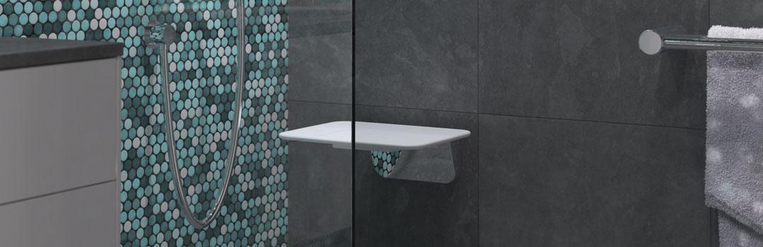 Avail Ambulant Fold Up Shower Seat