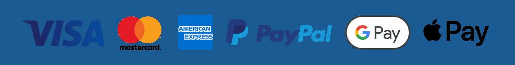 Avail Payments Google Apple Paypal Visa Mastercard